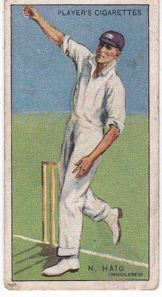 No. 19 - N Haig (Middlesex)