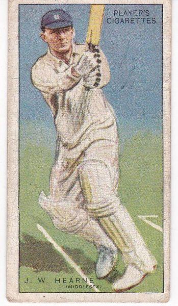 No. 22 - J W Hearne (Middlesex)