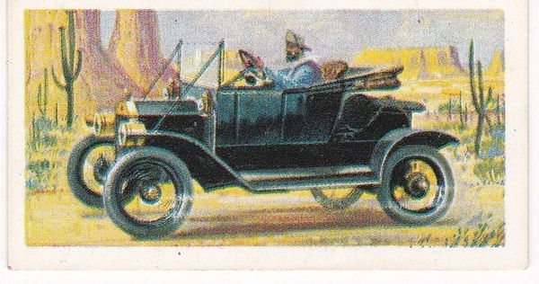 Trade Card Brooke Bond Transport Through the Ages No 31 Early Motor Car