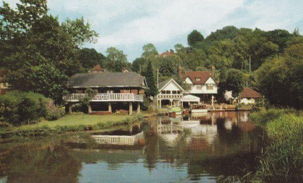 Post Card Surrey Guildford, The Jolly Farmer Inn