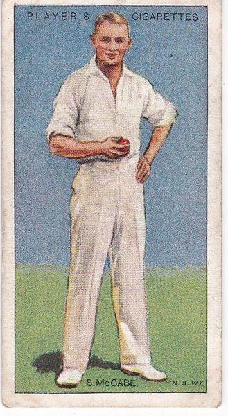 No. 32 - S McCabe (New South Wales)
