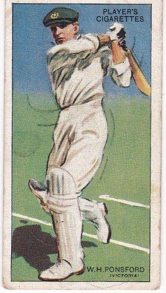 No. 36 - W H Ponsford (Victoria)