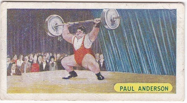 No. 22 Paul Anderson - American Weight Lifter