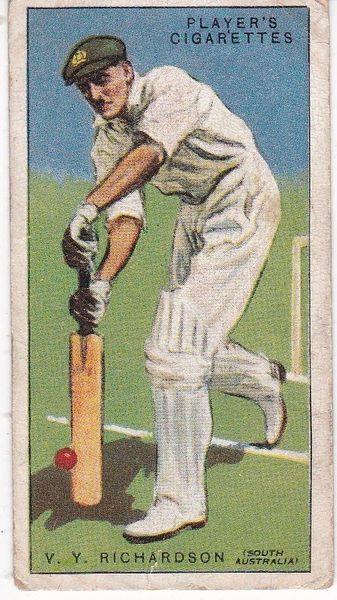 No. 37 - V Y Richardson (S Australia)