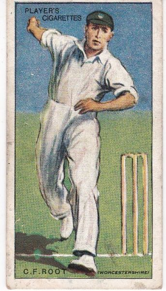 No. 38 - C V Root (Worcestershire)