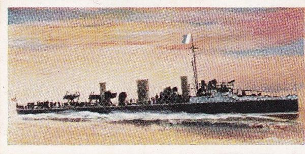"No. 04 H.M.S. DOVE ""C"" Class Torpedo Boat Destroyer"