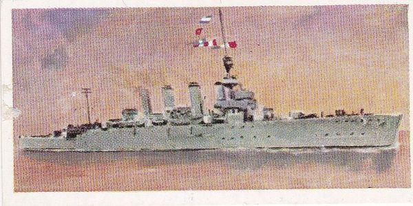 No. 07 H.M.S. CHESTER Light Cruiser