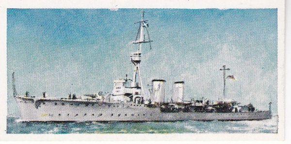No. 09 H.M.S. CASTOR Light Cruiser