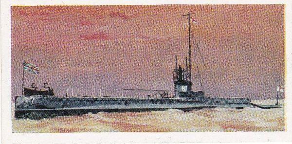 No. 10 H.M. SUBMARINE E.7 Admiralty Saddle Tank Type