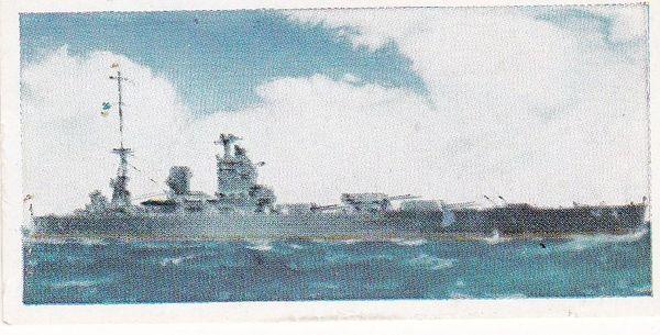 No. 17 H.M.S. NELSON Battleship