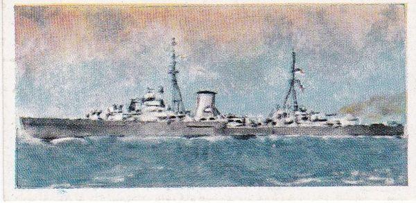 No. 18 H.M.S. Ajax Leander Class Cruiser