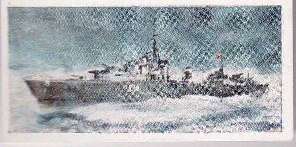 No. 19 H.M.S. ZULU Tribal Class Destroyer