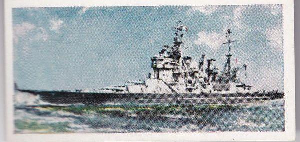 No. 20 H.M.S. HOWE Battleship