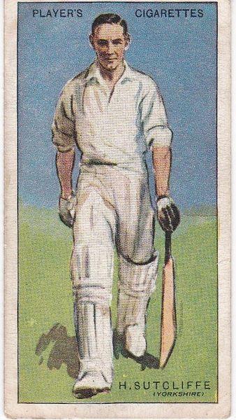 No. 40 - H Sutcliffe (Yorkshire)