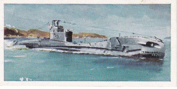 "No. 21 H.M.S. TRAVELLER ""T"" Class Medium Patrol Type Submarine"