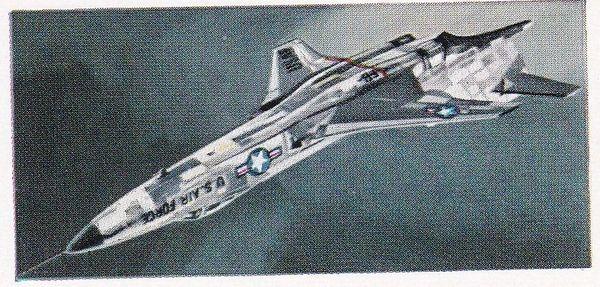 No. 21 McDonnell F-101A. Voodoo