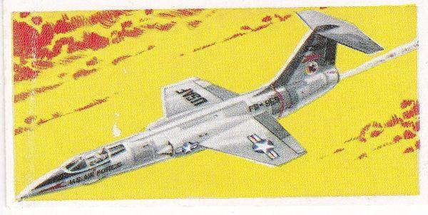No. 22 Lockheed F-104A Starfighter