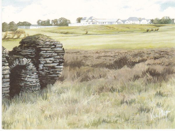 postcard TREVOSE GOLF & COUNTRY CLUB St. Constantine's Church unposted