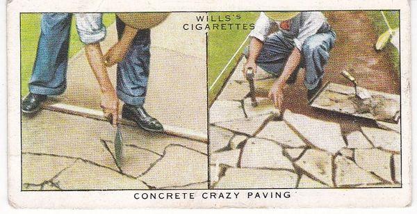 No. 01 Concrete Crazy Paving