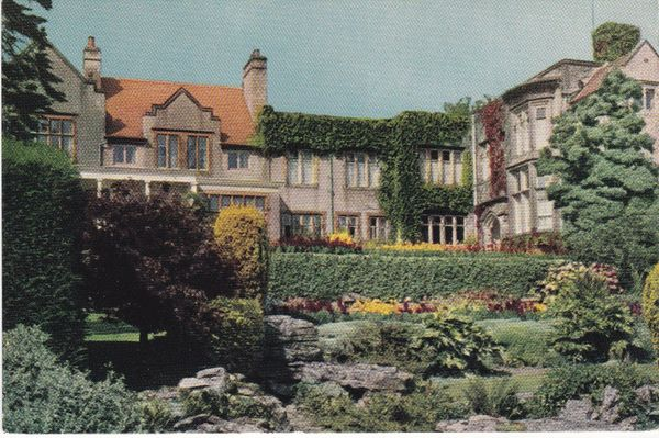 Post Card Cumbria Grange over Sands GRAYTHWAITE MANOR HOTEL