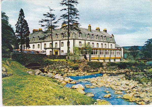 Post Card Cumbria Shap THE SHAP WELLS HOTEL, Westmorland J. Arthur Dixon