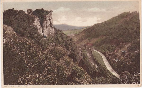 Post Card Derbyshire Matlock HIGH TOR Photochrome Co. Ltd.