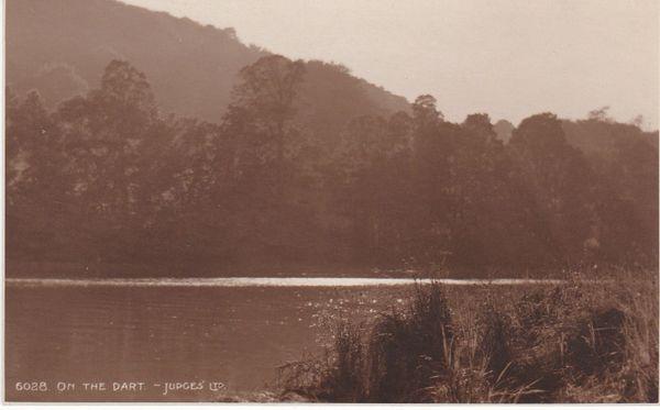 Post Card Devon Dartmoor ON THE DART Judges Ltd. 6028