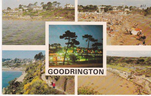 Post Card Devon GOODRINGTON 5 views Europa Cards