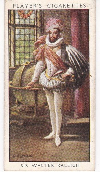 No. 08 Sir Walter Raleigh : The Smokers' Dandy