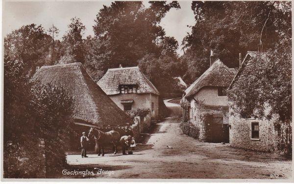 Post Card Devon COCKINGTON FORGE 902