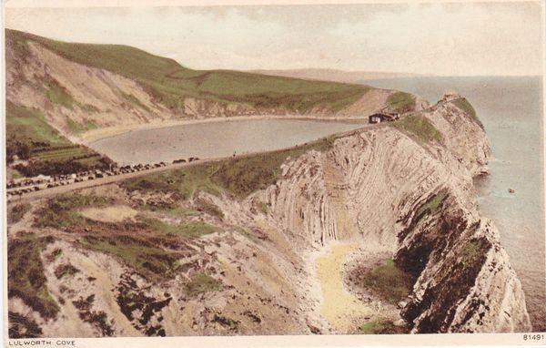 Postcard Dorset LULWORTH COVE Photochrom 81491
