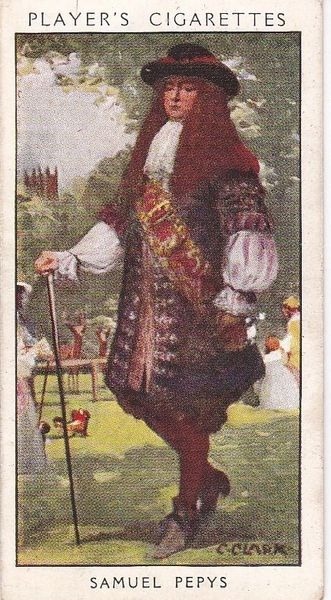 No. 11 Samuel Pepys : A Dandy Diarist