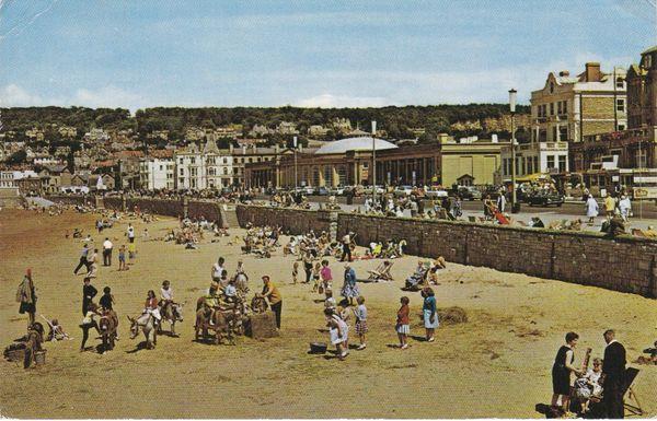 Postcard Somerset WESTON-SUPER-MARE The Sands PT6175