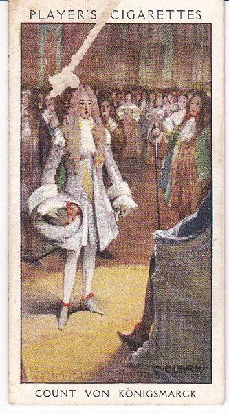 No. 14 Count von Konigsmarck : Dandy Diplomacy