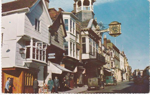 Post Card Surrey GUILDFORD High Street Photographic Greetings Card Co.