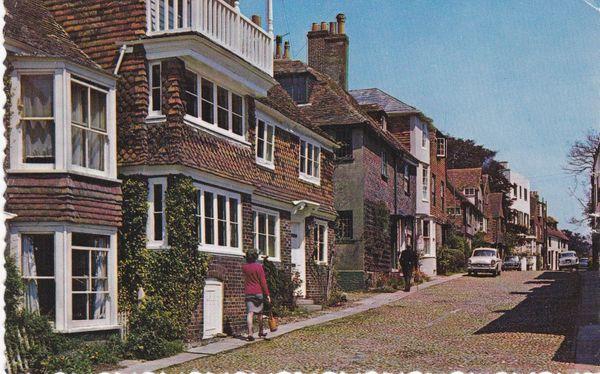 Post Card Sussex RYE Watchbell Street Norman Shoesmith & Etheridge Ltd. 472