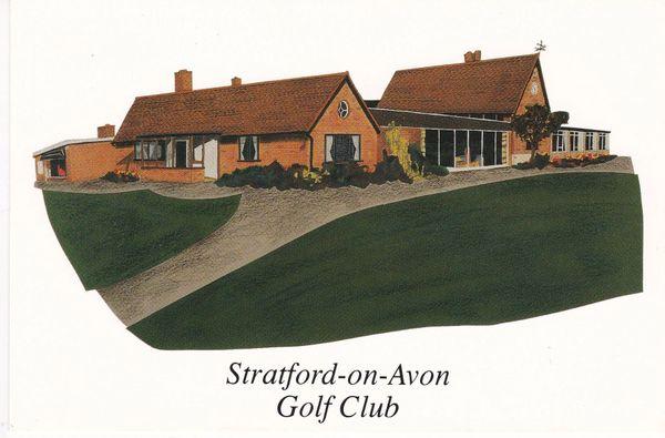 Post Card Warwickshire STRATFORD-ON-AVON Golf Club