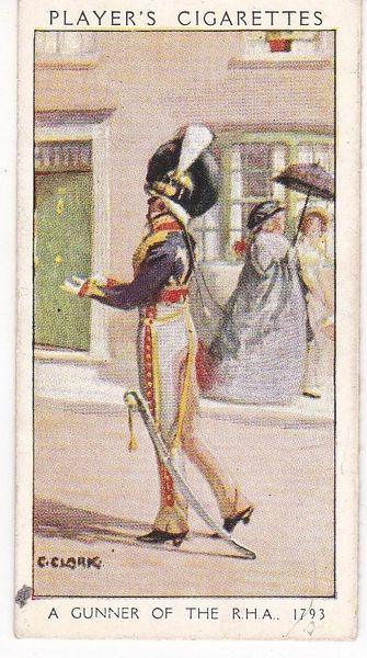 No. 20 Gunner of The R.H.A. 1793 : A Dandy Gunner