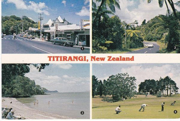 Post Card New Zealand TITIRANGI 4 views