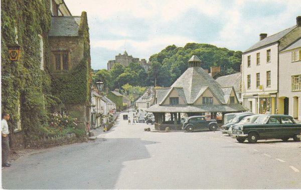 Postcard Somerset DUNSTER PT6130