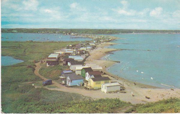 Postcard Dorset MUDEFORD View from Hengistbury Head PT2660