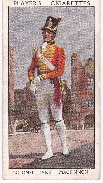 No. 27 Colonel Daniel Mackinnon : Dan Mackinnon