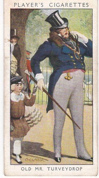 No. 28 Old Mr Turveydrop : Deportment