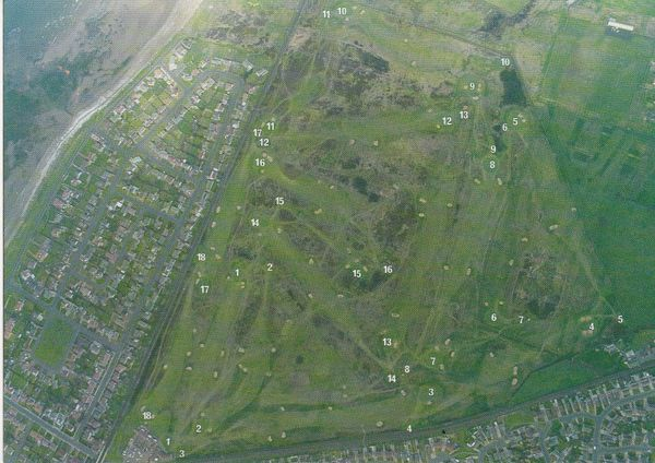 Post Card Scotland Ayrshire Troon - BARASSIE KILMARNOCK Golf Club Terrick Productions Limited T.P.406