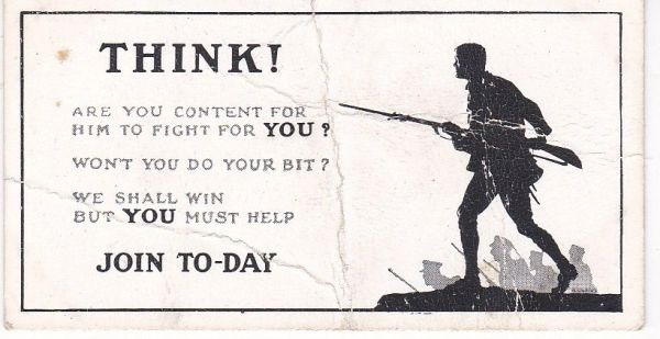 RECRUITING POSTERS : Think!