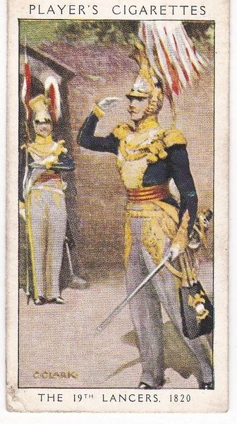 No. 38 The 19th Lancers 1820 : Military Millinery