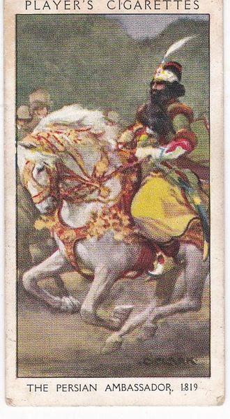 No. 39 The Persian Ambassador 1819 : The Sensation of 1819