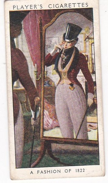 No. 40 A Fashion of 1822 : Dressed for the Park