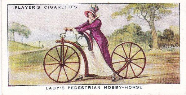 No. 02 Lady's Pedestrian Hobby-Horse