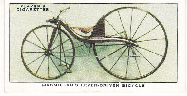 No. 03 Macmillan's Lever-Driven Bicycle